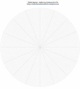 Mandala Créatif De Septembre 2017 2 Gabarits Pour Créer Vos Mood