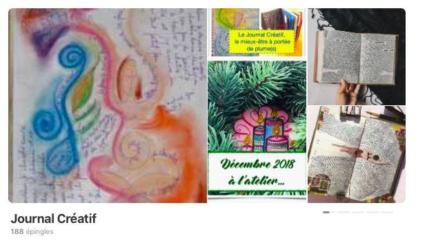 Inspiration journal créatif